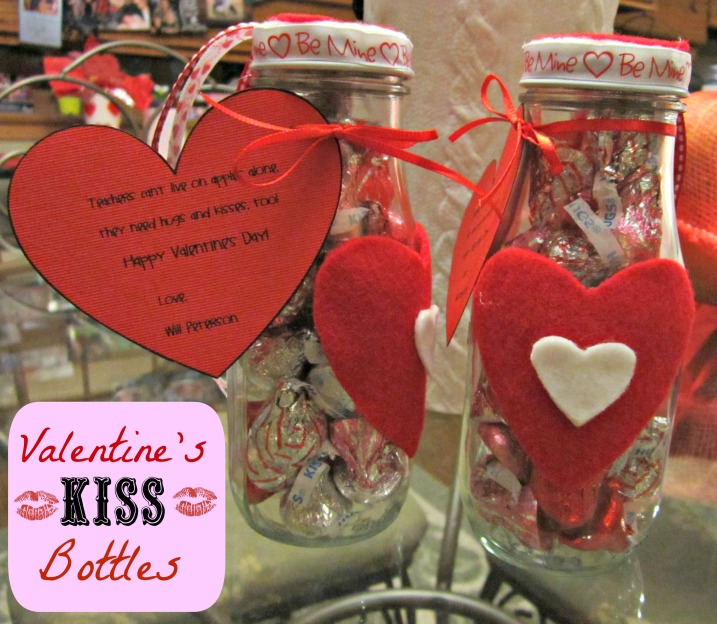 Valentine's Kiss Bottles