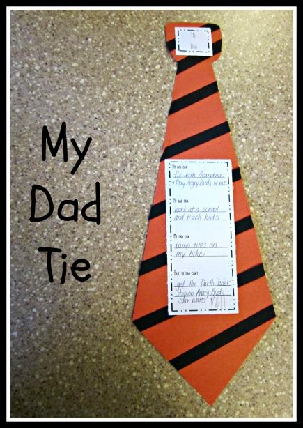 My Dad Tie