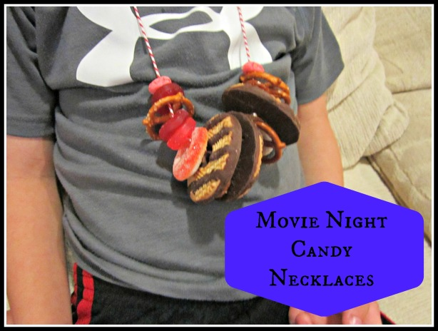 Movie Night Candy Necklaces