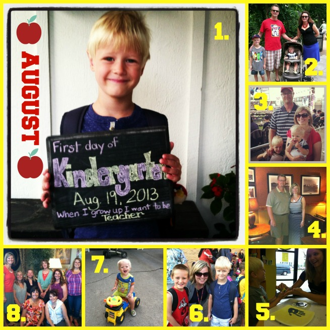 August Tidbits Collage