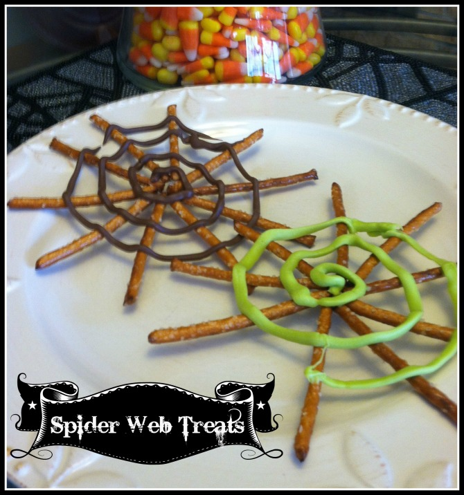 Spider Web Treats