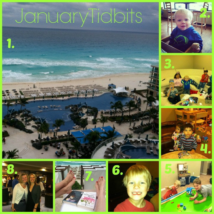 January Collage