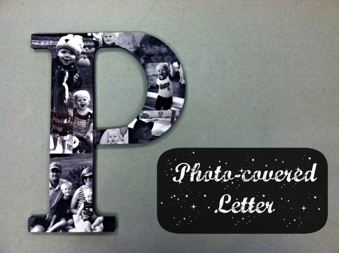Photo-covered Letter