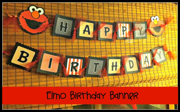Elmo Birthday Banner  017