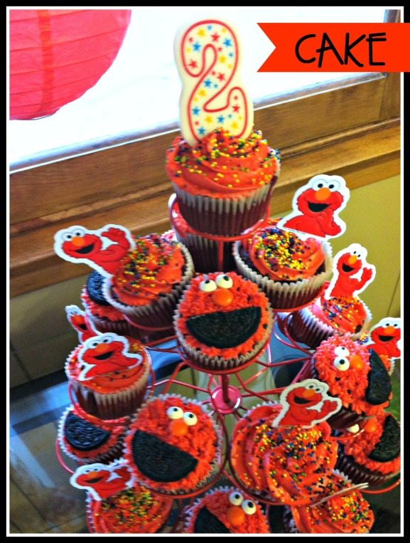 Elmo Birthday Cupcakes 030